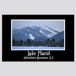 Lake Placid New York Large Poster