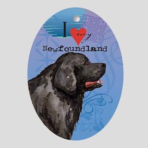 Newfoundland Oval Ornament