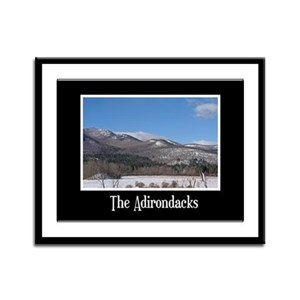 The Adirondacks Framed Panel Print