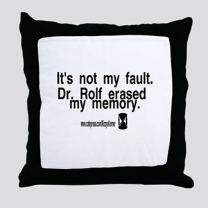 DOOL DR. ROLF Throw Pillow