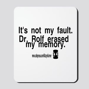 DOOL DR. ROLF Mousepad