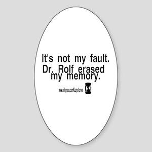 DOOL DR. ROLF Oval Sticker