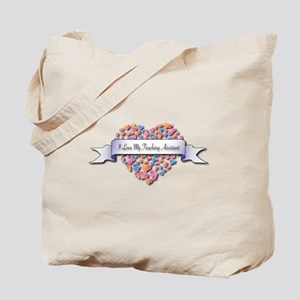 Love My Teaching Assistant Tote Bag