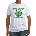 Strip District Drinking Team Fitted T-Shirt