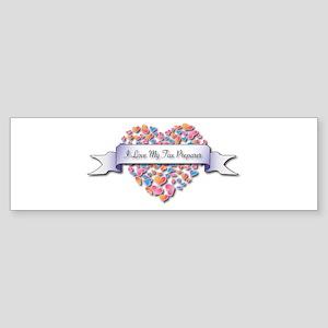 Love My Tax Preparer Bumper Sticker