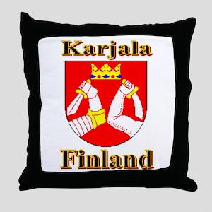 The Karjala Shop Throw Pillow