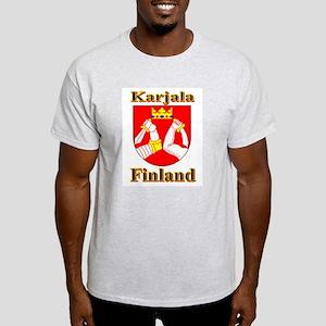 The Karjala Shop Ash Grey T-Shirt