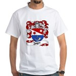 Jager Family Crest White T-Shirt