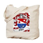 Jager Family Crest Tote Bag
