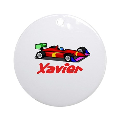 Xavier Ornament (Round)