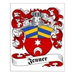 Jenner Family Crest Small Poster