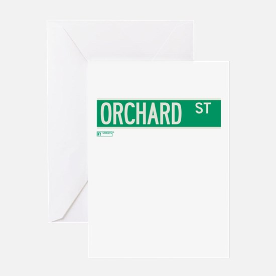 Orchard Street in NY Greeting Card