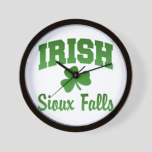 Sioux Falls Irish Wall Clock