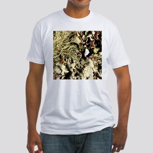 Lichen on Canvas by Picasso Fitted T-Shirt