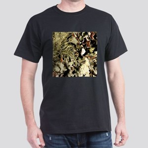 Lichen on Canvas by Picasso Dark T-Shirt