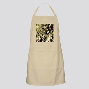 Lichen on Canvas by Picasso BBQ Apron