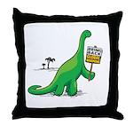 Bring Back Global Warming Throw Pillow