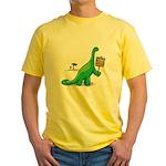 Bring Back Global Warming Yellow T-Shirt