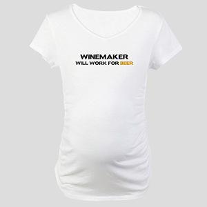 Winemaker Maternity T-Shirt