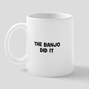 The Banjo did it Mug