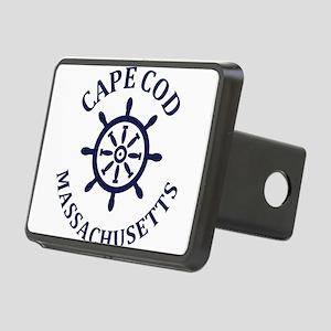 Summer cape cod- massachus Rectangular Hitch Cover