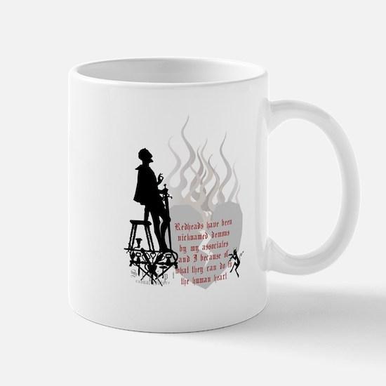 Redhead Demon Quote Mug