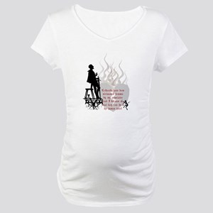 Redhead Demon Quote Maternity T-Shirt