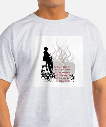 Redhead Demon Quote T-Shirt