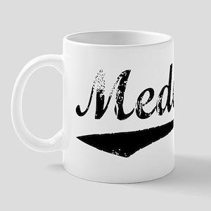 Vintage Medellin (Black) Mug
