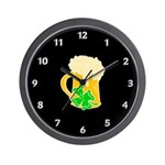 Irish Beer By The Pitcher Wall Clock