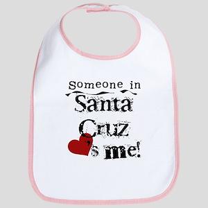 Santa Cruz Loves Me Bib
