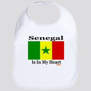 Senegal - Heart Bib