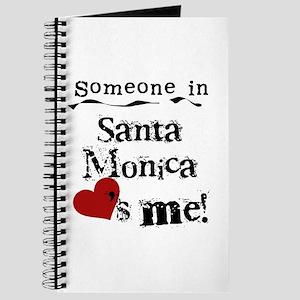 Santa Monica Loves Me Journal