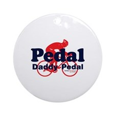 Pedal Daddy Pedal Ornament (Round)