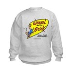 Weasel-on-a-Stick Kids Sweatshirt