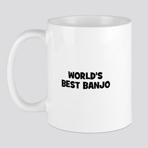world's best Banjo Mug