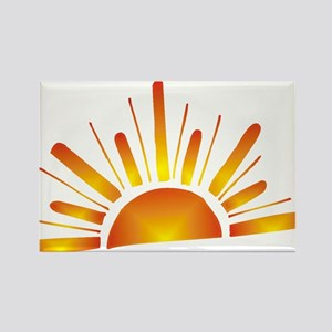 SUNSET (1) Rectangle Magnet