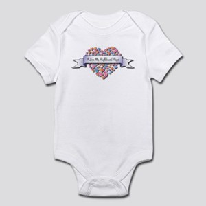 Love My Shuffleboard Player Infant Bodysuit