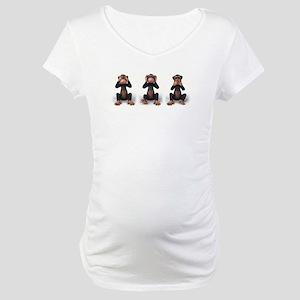 SEE NO EVIL... Maternity T-Shirt