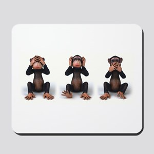 SEE NO EVIL... Mousepad