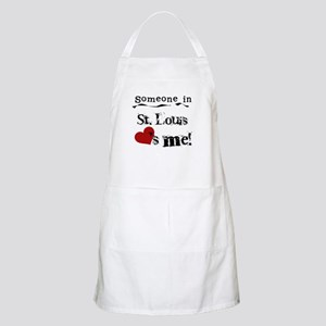St. Louis Loves Me BBQ Apron