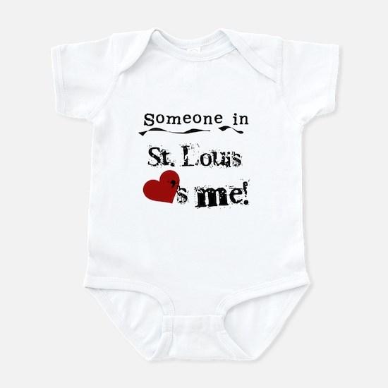 St. Louis Loves Me Infant Bodysuit