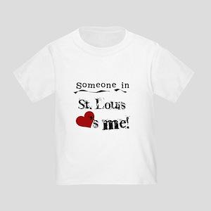 St. Louis Loves Me Toddler T-Shirt