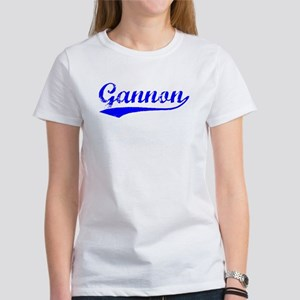 Vintage Gannon (Blue) Women's T-Shirt