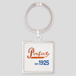 Perfect, Est. 1925 Square Keychain