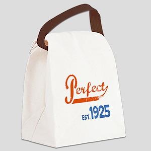 Perfect, Est. 1925 Canvas Lunch Bag