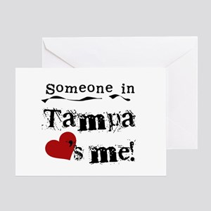 Tampa Loves Me Greeting Card