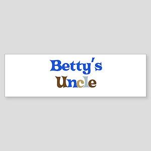 Betty's Uncle Bumper Sticker