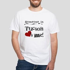 Tucson Loves Me White T-Shirt