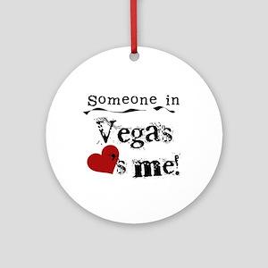Vegas Loves Me Ornament (Round)